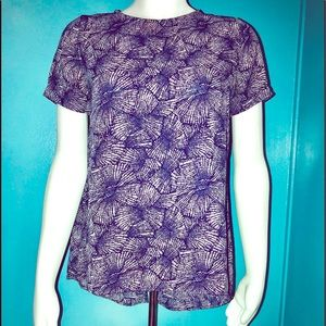 SIENNA SKY • Pointille Floral Blouse / size (S)